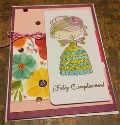 Wine, Cheese and Scrapbooking: Una tarjeta de cumpleaños porque sí...