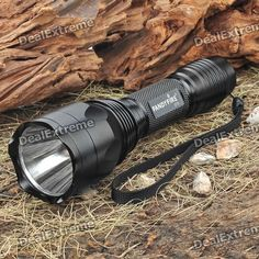 FandyFire C10 1-Mode 700-Lumen White LED Flashlight with Strap (1x18650/1x17670/2x16340). Brand: FandyFire Model: C10 Color: Black Emitter Brand/Type: Cree Emitter BIN: XM-L Color BIN: White Total Emitters: 1 Battery Configurations: 1x18650 / 1x17670 / 2x16340 rechargeable battery (not included) Voltage Input: 3.6~8.4V Switch Type: Clicky/Clickie Switch Location: Tail-cap Modes: 1 Mode Memory: - Mode Arrangement: - Circuitry: Digitally Regulated 2200mA Current Output Brightness: 700 lumens…