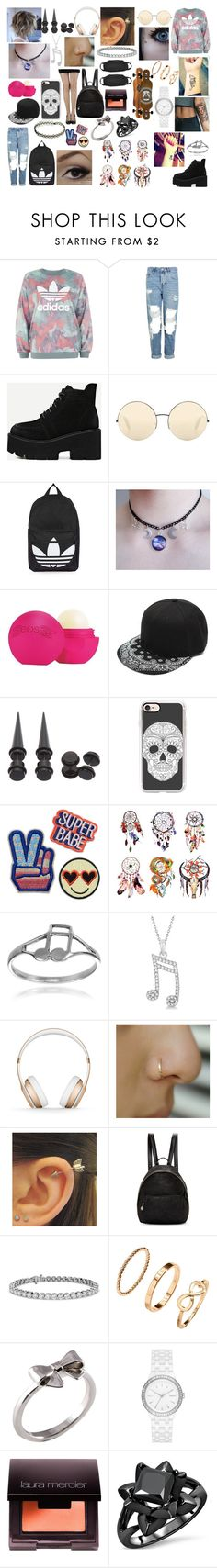 """""""#70"""" by spider-1505 on Polyvore featuring adidas, Topshop, Victoria Beckham, Casetify, CO, Journee Collection, Allurez, Beats by Dr. Dre, STELLA McCARTNEY and Blue Nile"""