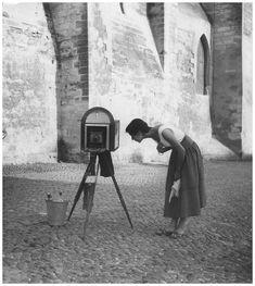 Walde Huth, Avignon, 1955.