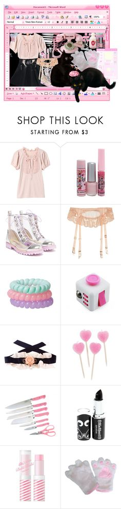 """""""black cats and cough syrup"""" by bringmemethehorizon ❤ liked on Polyvore featuring Etude House, Sophia Webster, Agent Provocateur, Hen & Rooster, Hot Topic and KOKOKim"""