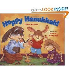 Hoppy Hanukkah! by Linda Glaser