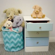 Here's a small up-cycling project from our friends at Johnstone's. Upcycled Furniture, Diy Furniture, Bedroom Decor Master For Couples, Johnstones Paints, Interior Design Kitchen, Woodworking Plans, Playroom, Diy Decoration, Decor Ideas