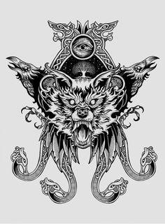 Norse Runes, Viking Runes, Norse Mythology, Tattoo Old School, Back Tattoo, I Tattoo, Scandinavian Tattoo, Viking Longship, Bear Tattoos