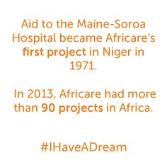 All it takes is one dream and one voice. What is your dream? #IHaveADream