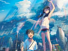 "The Japanese anime film ""Weathering With You"" by Makoto Shinkai has been nominated in four categories in the annual Annie Awards, including Best Animated Independent Feature, the international animated film society ASIFA-Hollywood says. Anime Demon, Anime Manga, Sad Anime, Kawaii Anime, Your Name Anime, Avant Premiere, Kimi No Na Wa, Vampire Weekend, Film D'animation"
