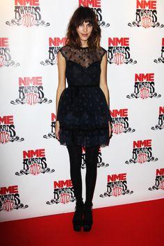 Alexa Chung at the NME Awards 2012