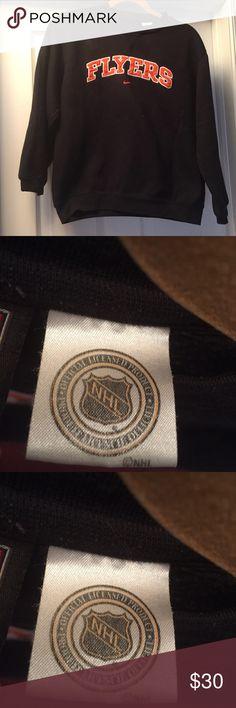 Boy's Large NHL FLYERS Sweatshirt, good condition Boy's Large NHL FLYERS Sweatshirt. Orange & Black!  National Hockey League! Very good condition!!!😄 PHILADELPHIA FLYERS!! National Hockey League Nike Other