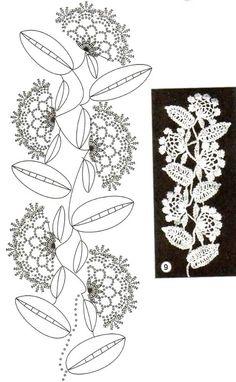 flowers and leaves crochet patterns | make handmade, crochet, craft