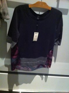 MEXX mixed media top Mixed Media, Glamour, Sweatshirts, Sweaters, Tops, Fashion, Moda, La Mode, Pullover