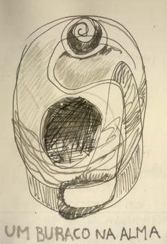 LUIS DESENHA: um buraco na alma