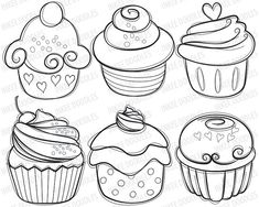 Cupcake tout mignon tout beau,  à tatoué ou à manger
