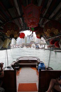 Junk boat tour on Victoria Harbour - #HongKong