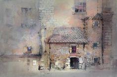Gesso Glazes - Chambery #watercolor jd