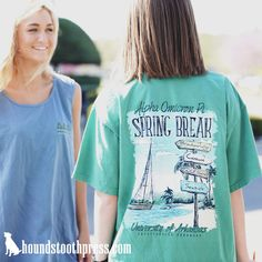 Look no further than Houndstooth Press for all of your sorority, fraternity, non-profit and organizational custom shirt design needs. Custom Design Shirts, Custom Tees, Tshirts Custom, Sorority Shirt Designs, Sorority Shirts, Fraternity Shirts, Sorority And Fraternity, Tri Delta Shirts, Screen Printing Shirts
