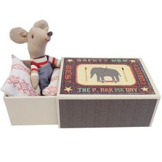 #Maileg Little Mouse in Box, Boy