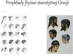 Najlepsze Obrazy Na Tablicy Historia Fryzur Starozytnej