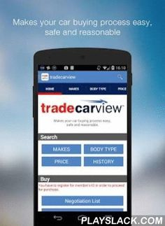 Tradecarview  Android App - playslack.com , tradecarview is the website where you can search and purchase high-quality used cars safely in low prices directly from Japan.It is also one of the largest used car marketplace in Japan.With tradecarview App you can search for and purchase your car smoothly.Main functions of the App:-Car search-Checking out car details-Browse car pictures (You can also Zoom in-out!)-Send inquiries-Negotiate car pricesRegistering Members' ID and getting quotations…