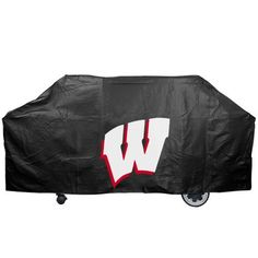 NCAA Wisconsin Badgers 59-Inch Grill Cover