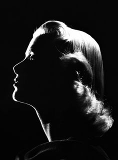 Grace Kelly photo in silhouette    Your life memories, on a chronological timeline at www.saveeverystep...