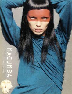 1998 dazed & confused magazine styled by Katy England