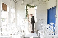 romantic garland ceremony decor