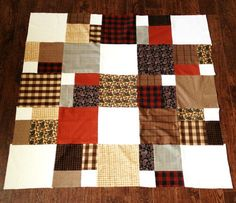 Make an easy lap quilt pattern or quilted throw to decorate your home and cuddle under. You will be able to make the best quilt for your home from our collection of lap blanket patterns, patchwork throw patterns, and handmade quilts. Lap Quilt Patterns, Jelly Roll Quilt Patterns, Beginner Quilt Patterns, Quilting For Beginners, Quilt Tutorials, Quilting Ideas, Quilting Projects, Quilts For Men Patterns, Sewing Patterns