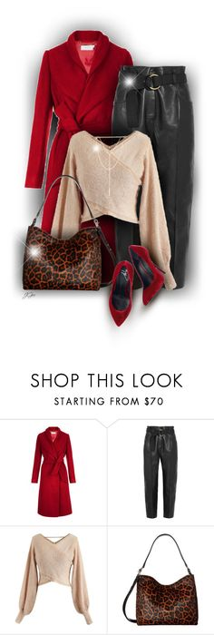"""Leopard Print Bag"" by jgee67 ❤ liked on Polyvore featuring Petar Petrov, Chicwish, Loeffler Randall, South Moon Under and Giuseppe Zanotti"