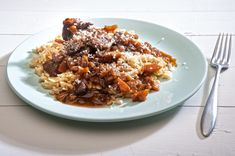 Veal cheeks with noodle Food Categories, Fried Rice, Nom Nom, Oatmeal, Beef, Breakfast, Ethnic Recipes, Clever, Parties