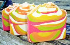 Zest For Life Pure Silk Handmade Soap #soapmaking