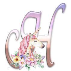 Alphabet Letters Design, Monogram Alphabet, Pegasus, Unicorn Painting, Minnie Png, Makeup Holder, Shabby, Fantasy, Princess Birthday