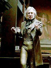 "2007 - Alan Rickman as Judge Turpin in Tim Burton's version of ""Sweeney Todd: The Demon Barber of Fleet Street."""