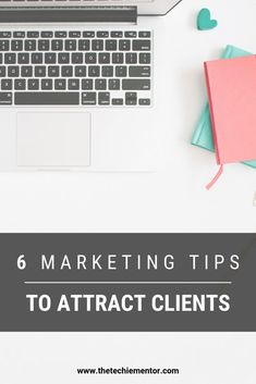 How do you market your solopreneur business to find and attract clients? The Techie Mentor shares if you want clients for your virtual assistant business, then you need to know who your target market or potential clients are. Click through to find 6 marketing tips you can do to help create your marketing plan and attract clients. #salesfunnel #becomeavirtualassistant #virtualassistanttraining