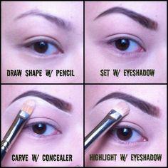Mini brow tutorial