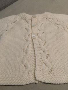 6 month size 4 ply jacket