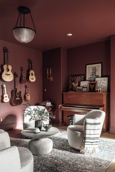 Paint Colors For Living Room, Bedroom Colors, Living Room Furniture, Living Room Decor, Dining Room, Living In A Hotel, Living Room Designs, Living Spaces, Christmas Sheets