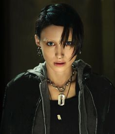 Girl with the Dragon Tattoo... i choose you over a large intimidating black man as my personal body guard... YOU RAWK