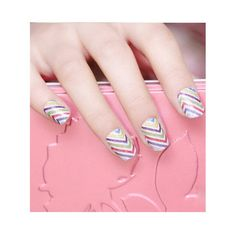 Nail Art Nail patch Nail Patch longue tenue Funky Crystal Nails, Nail Designs, Patches, Design Ideas, Nail Art, Crystals, Beauty, Nail Desings, Nail Arts