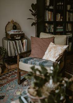 Home Tour: Bohemian Living Room