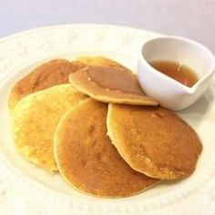 A batch of almond flour pancakes