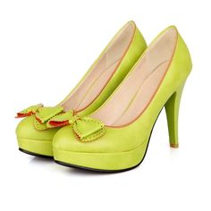 Women's Pure Color High Heel Stiletto Pumps