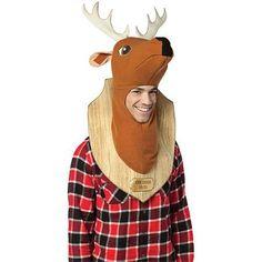 Trophy Head Deer Adult Halloween Costume - Walmart.com 4e267324ca1b0