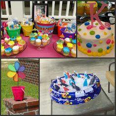 Love the cake idea. And the cooler idea.