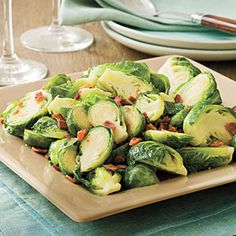 Bacon-Brown Sugar Brussels Sprouts | MyRecipes.com