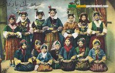 Selanik eski Türk kıyafetleri
