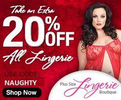 The Information Store: PlusSizeLingerieBoutique.com, plus sized women can...