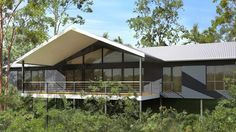 Mountain View Single Level Kit Homes | Modern Designs  ~ Great pin! For Oahu architectural design visit http://ownerbuiltdesign.com