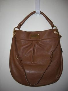 MARC by MARC JACOBS CLASSIC Q HILLIER HOBO LEATHER BAG