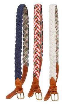 love these!!! Fabric belts are WAY better than leather bc they never fade! It's awesome!