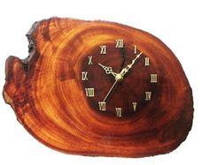 Relógio de Parede Madeira - Frete Grátis